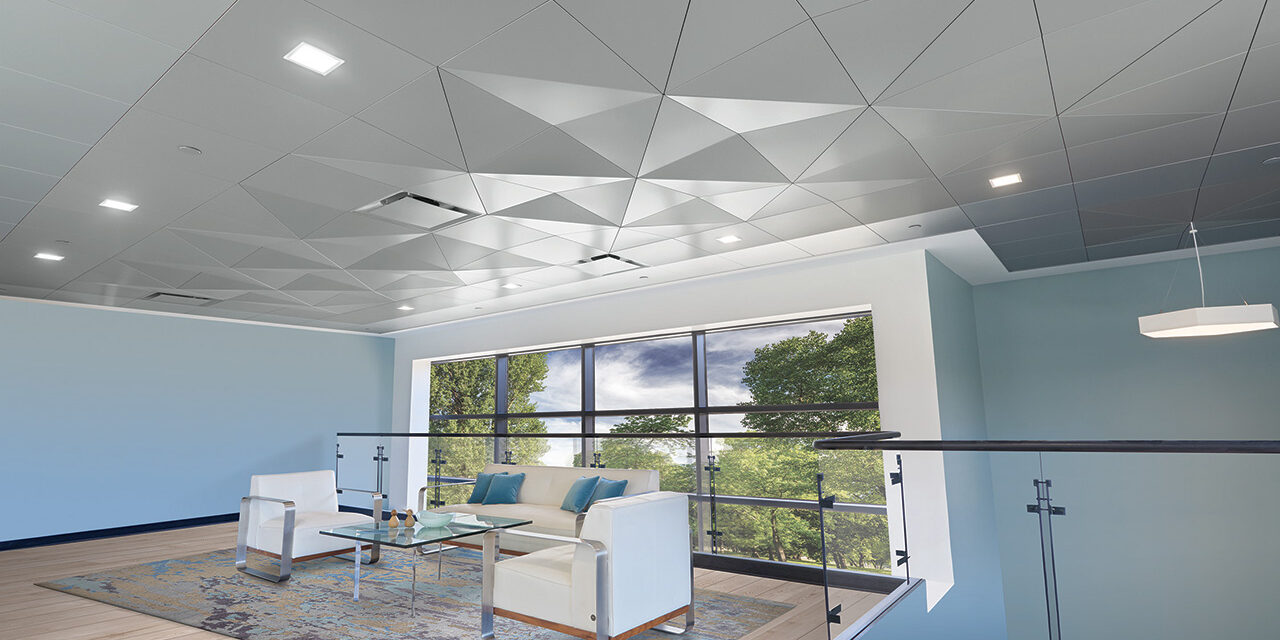 Metalworks Torsion Spring Shapes Add New Dimension To Ceiling Designs Prism