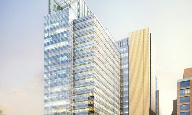 Construction begins on Pickard Chilton-designed Avocet Tower, featuring a high-performance glass façade