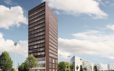 New IntercityHotel in Hanover: Hollow core ceiling system lowers building weight and reduces costs for drilled pile foundations