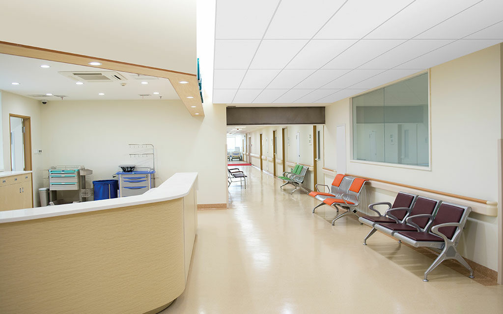 Armstrong introduces Calla® Health Zone™ ceilings, offering smooth visual for healthcare, clean room and food service applications