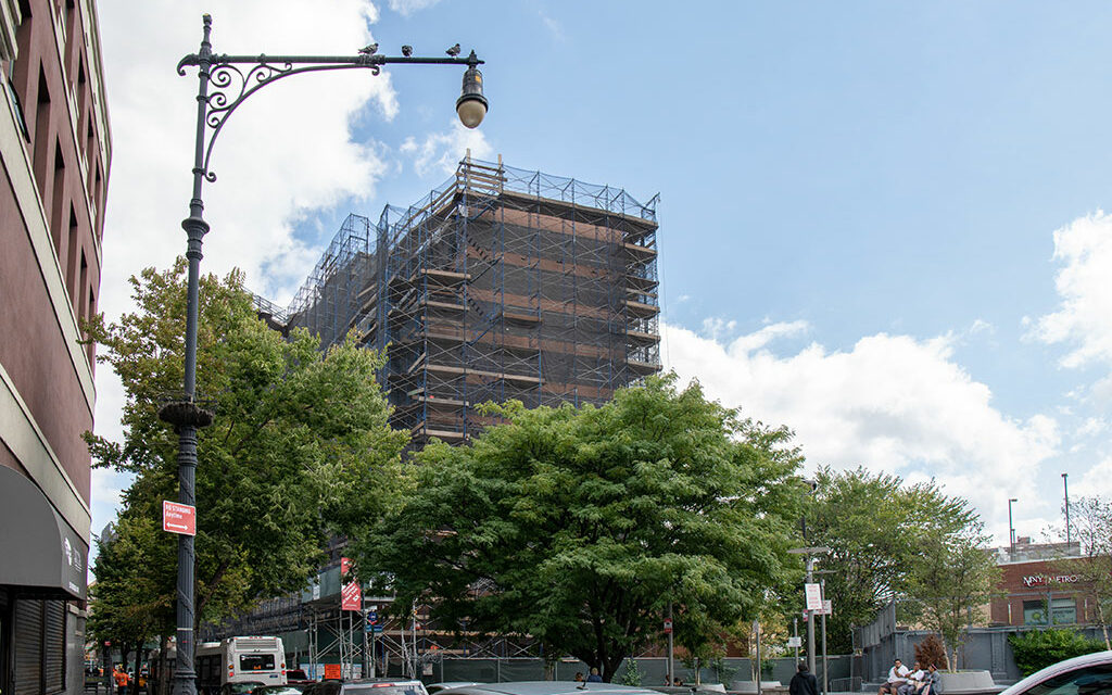 Two more buildings of the Bronx's La Central mixed-use project top out