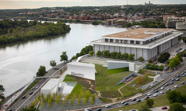 The Kennedy Center for the Performing Arts celebrates the opening of its first-ever expansion