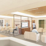 Perkins and Will reveals interior renderings for UTHealth Continuum of Care Campus for Behavioral Health