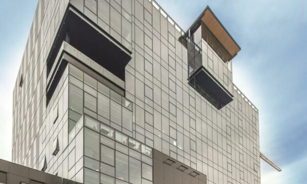 SOLARBAN 60 glass a key component in sustainable mixed-use Seattle building