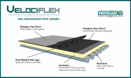Polyglass introduces Velociflex high wind-resistant roofing system
