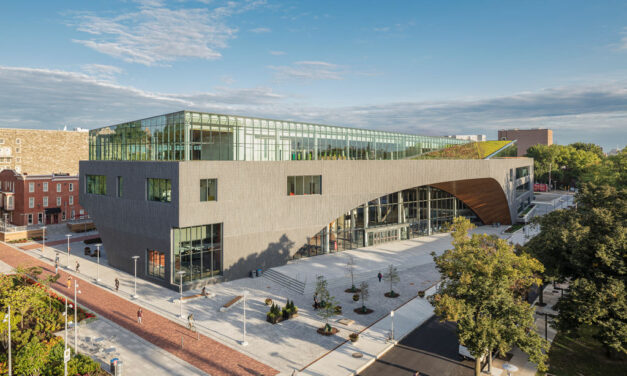 Sustainable design featured at Charles Library at Temple University in Philadelphia