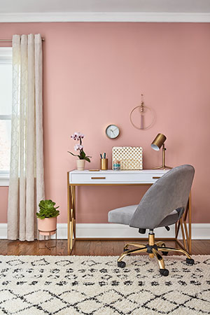 Valspar 2020 Color of the Year Bombay Pink