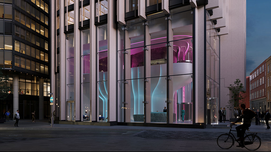 Zaha Hadid Architects draws inspiration from flower petals for design of Southbank Tower Lobby in London