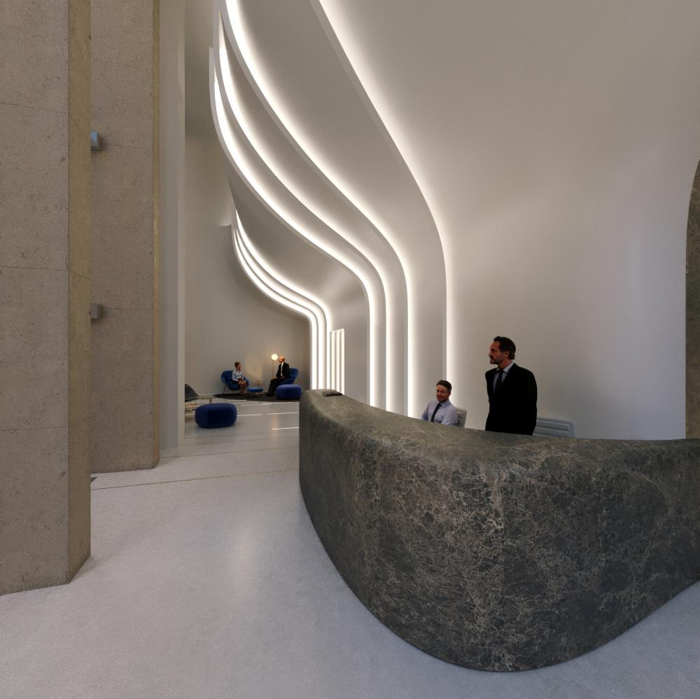 Rendering credit: Arch018 srl, @ Zaha Hadid Architects