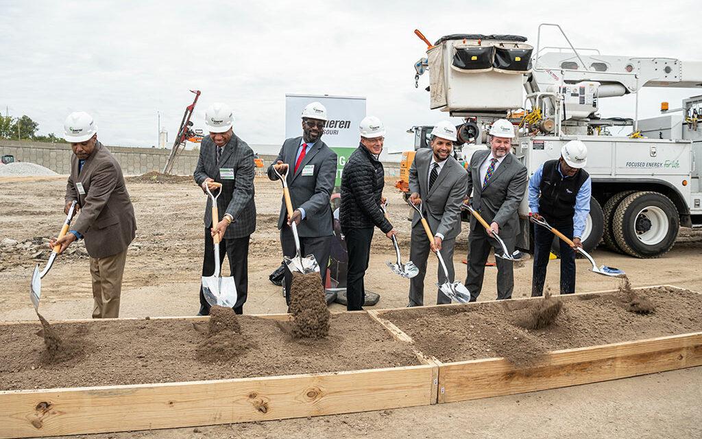 KAI Build and PARIC Corporation break ground on $21 million Ameren Missouri Operating Center in North St. Louis