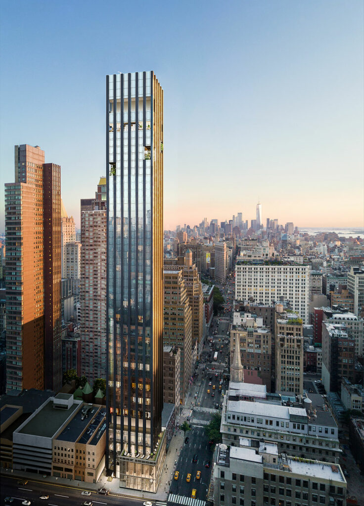 277 Fifth Avenue by Rafael Viñoly Architects, New York, USA. Photo credit:© Rafael Viñoly Architects