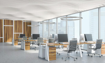 New FELTWorks™ Blades from Armstrong redefine ceiling plane with soft visual that quiets interior spaces