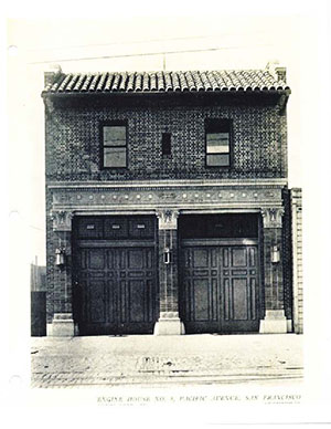 The original Engine Company No. 8, designed by city architect John Reid.