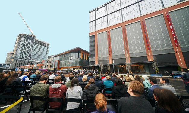 The St. Louis Cardinals and The Cordish Companies celebrate major milestone of Ballpark Village
