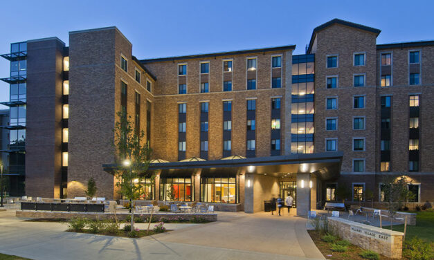 Construction complete on University of Colorado Boulder's sustainable residence hall Williams Village East