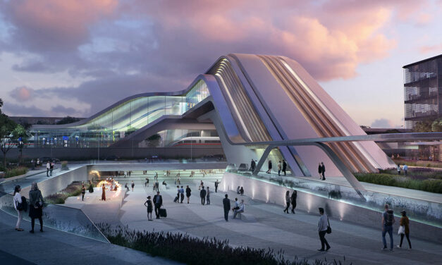 ZHA & Esplan win competition for Ülemiste terminal in Tallinn, Estonia
