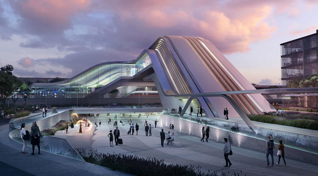 ZHA & Esplan win competition for Ülemiste terminal in Tallinn, Estonia