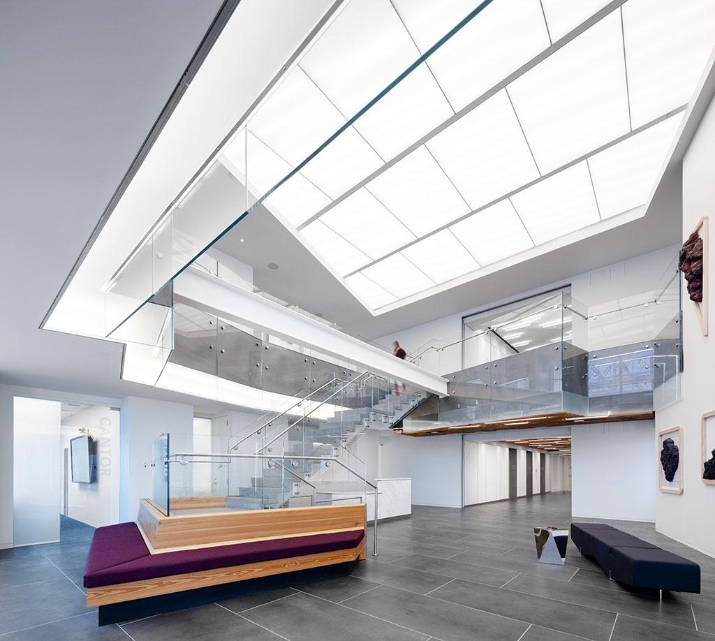 CertainTeed Decoustics LightFrame®, Media Math Headquarters. Photo credit: Liz Clayman
