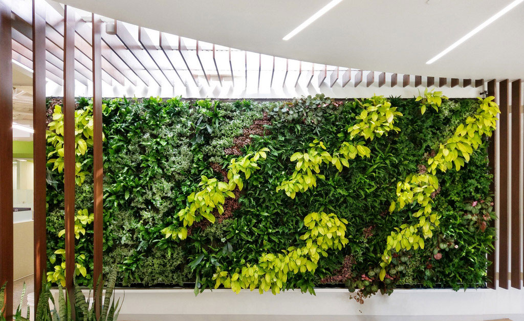 Specifying Green Walls: Bringing Indoor Environments to Life
