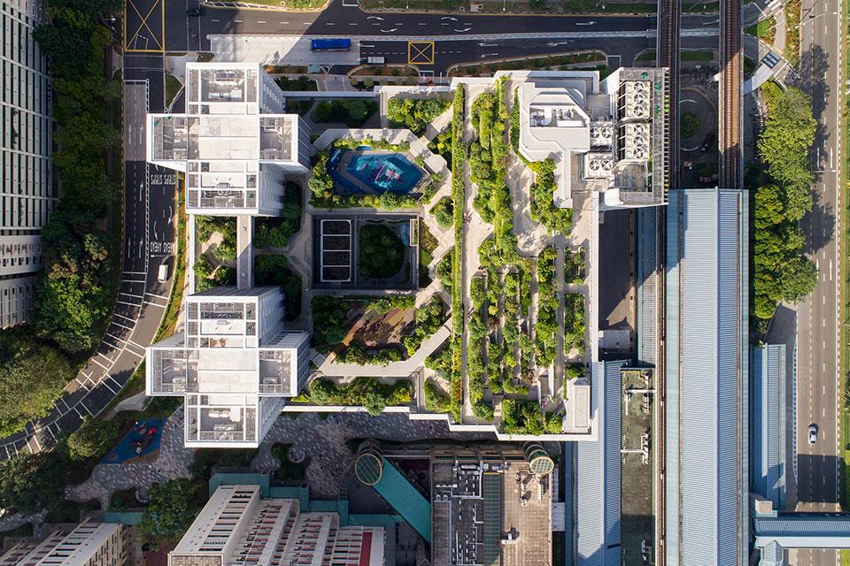 WOHA - Kampung Admiralty. Credit: Patrick Bingham-Hall, Darren Soh, Lim Weixiang