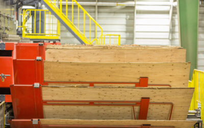 Freres Lumber installs first horizontal plywood press in the United States