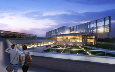 New sustainably designed Academic Hub at Kettering University