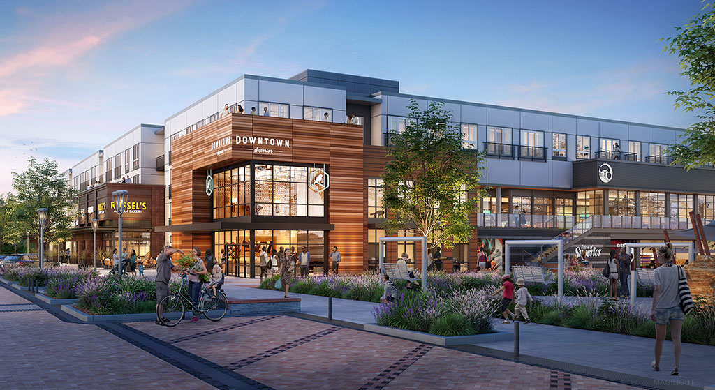 KTGY Architecture + Planning unveils designs for downtown Superior's Main Street in Boulder County, Colorado