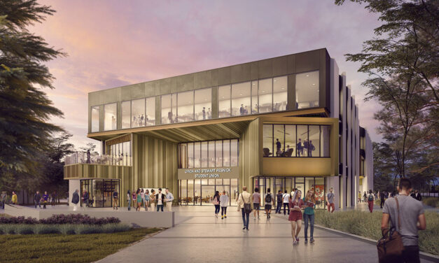 Construction begins on HED-designed Lynda and Stewart Resnick Student Union at Fresno State