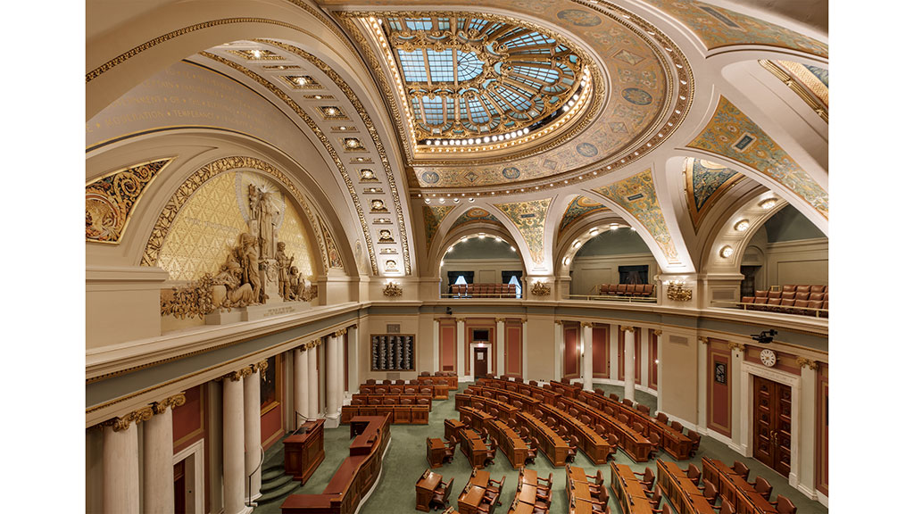 House Chambers - After. Photo credit: © Paul Crosby Architectural Photography (2017)