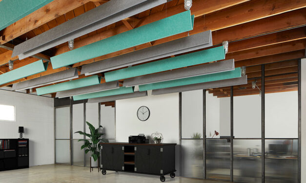 Kirei rethinks the modern ceiling baffle with launch of new AVIO Collection