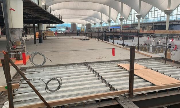 Denver International Airport Great Hall Project resumes construction