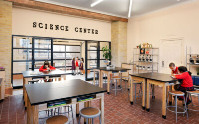 Rooftop turned into outdoor science lab at Manhattan K-8 school