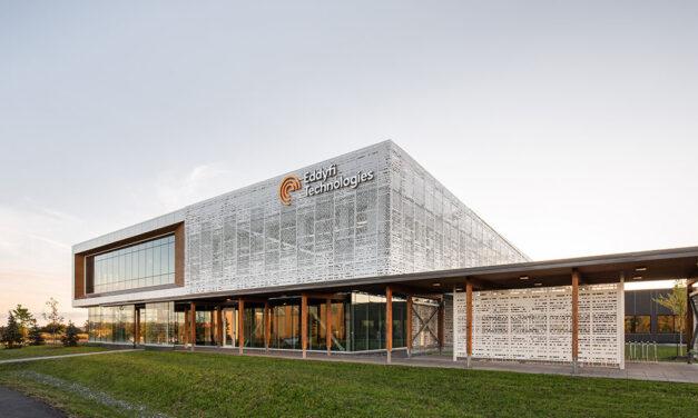 Eddyfi Technologies' world headquarters embodies biophilic design and sustainability