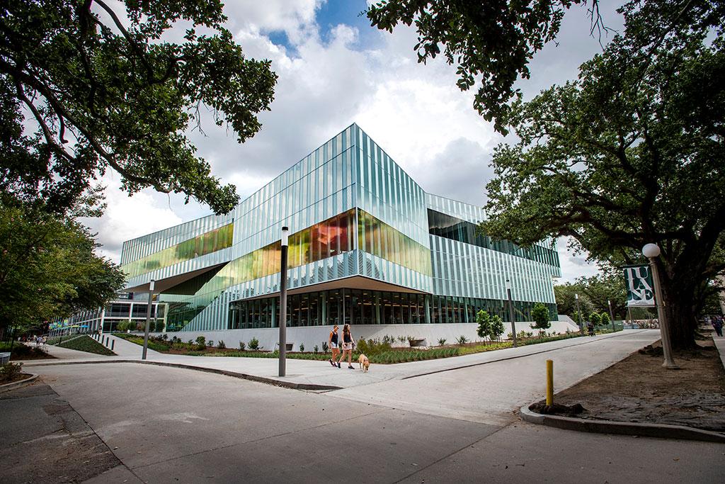 The Commons at Tulane University, New Orleans. Photo credit: ©Tulane University-PBurch