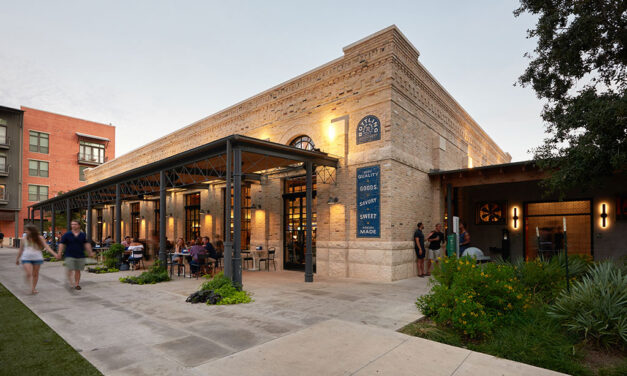 The Bottling Department Food Hall in San Antonio, Texas