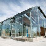 Belvedere Transit Centre showcases RHEINZINK prePATINA zinc to create a distinctive, durable design with minimal maintenance