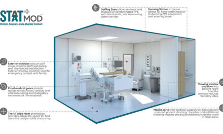 HGA and The Boldt Company build STAAT Mod™ critical care units to address the COVID-19 hospital bed shortage