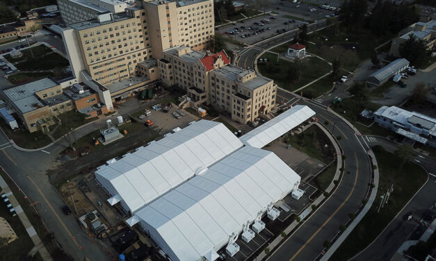 Army Corps constructs alternate care facilities in New Jersey