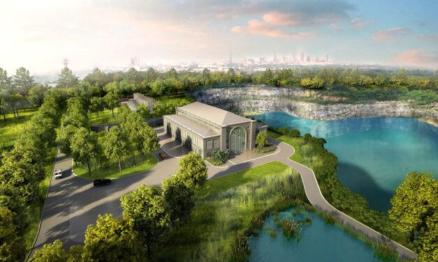 Oldcastle APG's Echelon and Belgard sustainable materials integral to reservoir megaproject as Atlanta's iconic Bellwood quarry opens floodgates