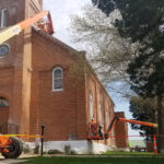 Western Specialty Contractors performs façade restoration of historic church in Union, Missouri