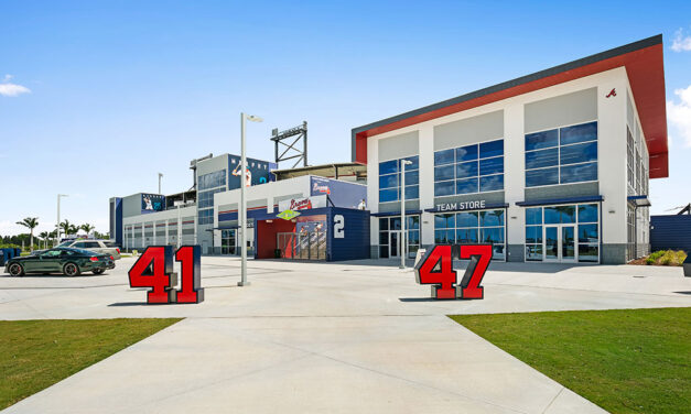 Ceiling solutions hit a home run at the Atlanta Braves Spring Training Complex