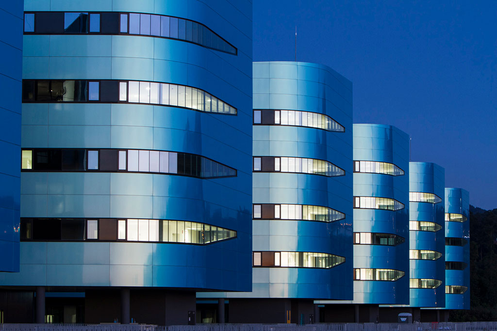 Álvaro Cunqueiro Hospital, Vigo, Spain. Photo credit: ©Cortizo