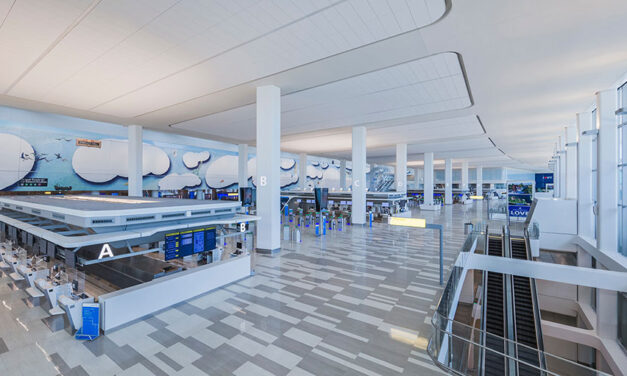 Walsh Construction celebrates unveiling of LaGuardia Airport's new Terminal B Headhouse