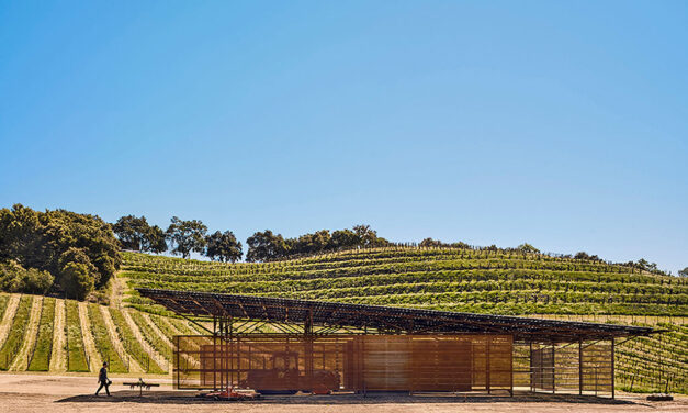 The Saxum Vineyard Equipment Barn, an off-the-grid agricultural building for the 21st century