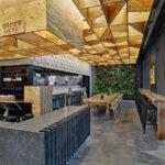 CO-OP Ramen Restaurant in Bentonville, Ark., designed by Marlon Blackwell Architects