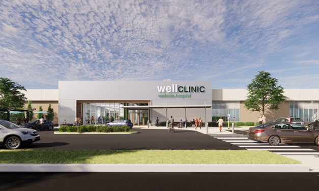 Repurposing dark anchor spaces into healthcare facilities
