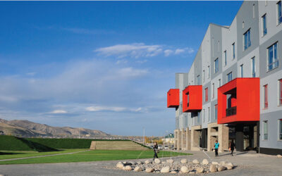 American University of Central Asia (AUCA) in Bishkek, Kyrgyzstan