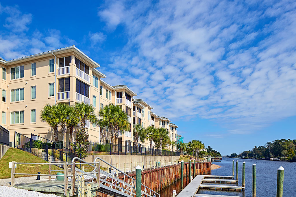 The Edgewater Condominiums in North Myrtle Beach, S.C. Photo courtesy of Sto Corp.
