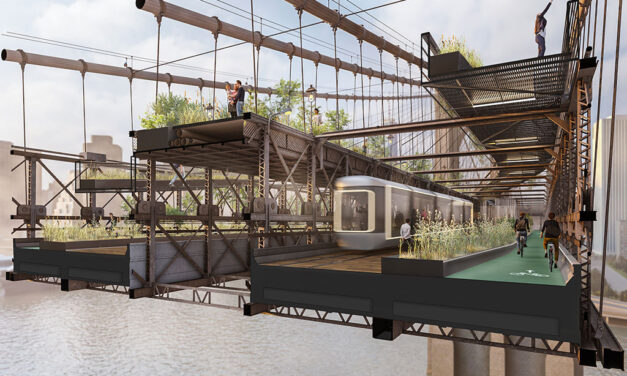 DXA studio reimagines the Brooklyn Bridge