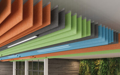 CertainTeed launches new Felt Baffles & Open Cell ceiling systems and Techstyle® Felt Acoustical Ceilings